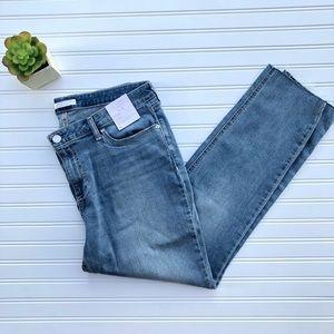LC Lauren Conrad Skinny Raw Hem Jeans